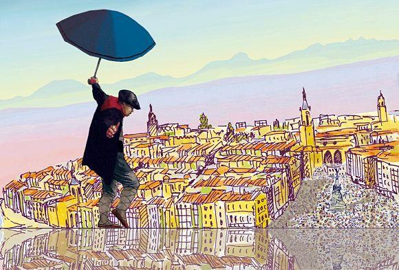 La bajada de Celedón da comienzo a las Fiestas de la Blanca de Vitoria/Gasteiz