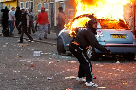 disturbios londres