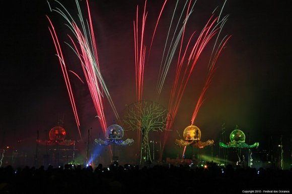 Durante el Festival de los Oceanos, Lisboa se tiñe de color al ritmo de la música