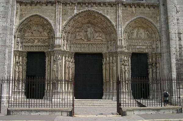 Catedral Chartres Portico Real
