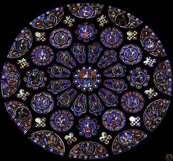 Catedral Chartres Vidrieras