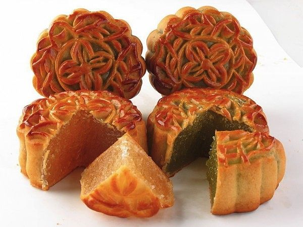 Festival del Medio Otoño de China mooncakes