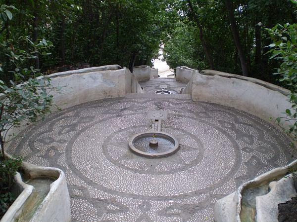 Generalife Alhambra Escalera Agua