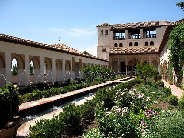 Generalife Alhambra Patio Acequia
