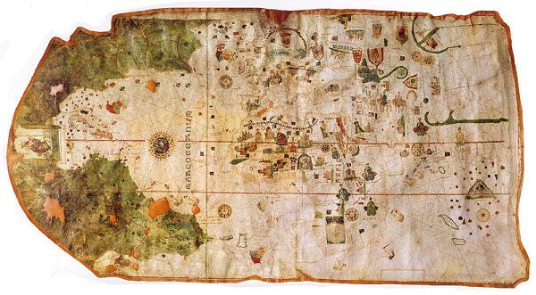 Museo Naval Madrid mapa Juan de la Losa