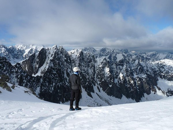 montes tatra nieve