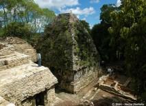 Fotografía del nuevo palacio maya encontrado en Plan de Ayutla, Chiapas, México.