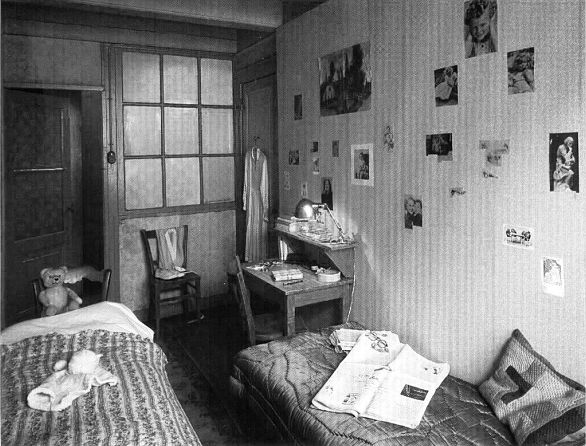 casa Ana Frank habitacion