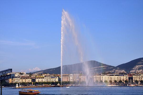 Jet d'eau Ginebra