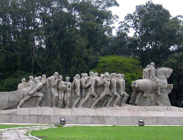 Parque Ibirapuera estatua