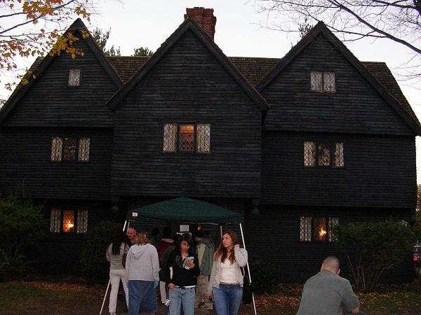 Casa brujas Salem