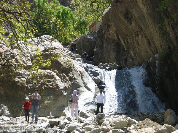 Valle Ourika cascada