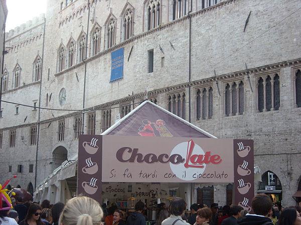 Eurochocolate, un festival para los más chocolateros de Italia
