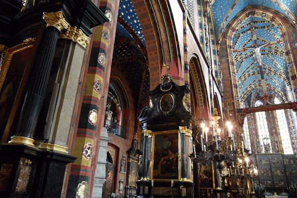 basílica Santa María Cracovia