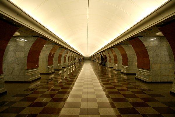 metro moscú fotos