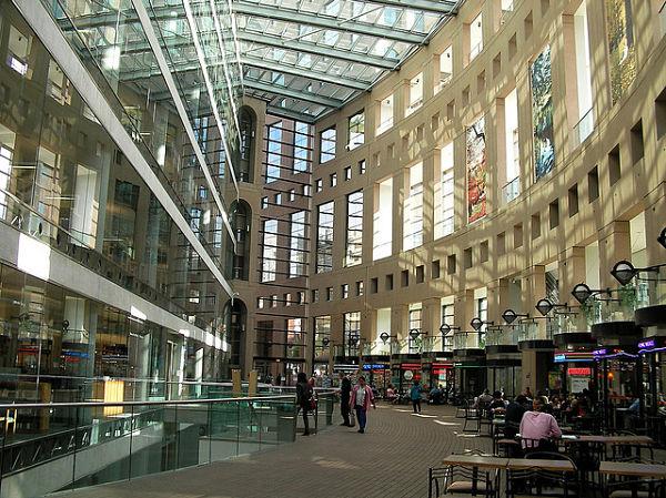 Biblioteca Vancouver centros comerciales