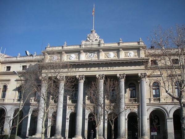 Bolsa de Madrid entrada
