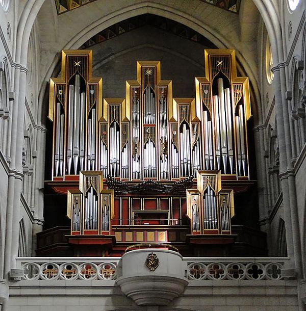 Catedral de la Almudena organo