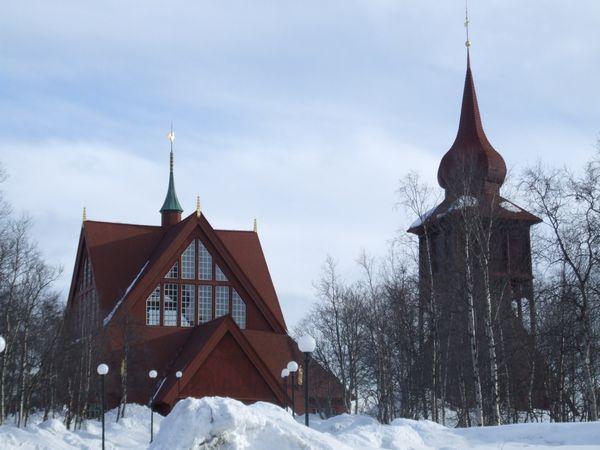 Iglesia Kiruna Suecia