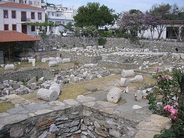 Museo Halicarnaso ruinas