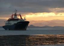 El barco es la única vía de acceso a las islas Kerguelen en el océano Índico