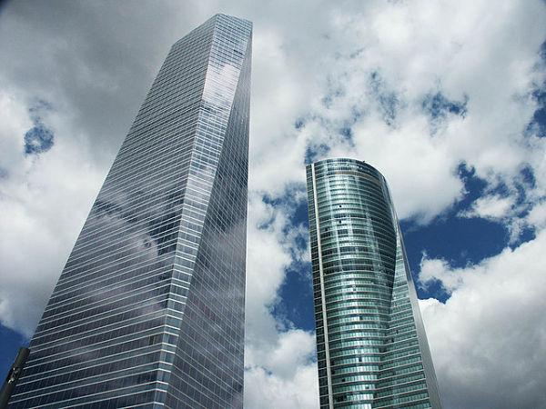 Cuatro torres madrid rascacielos