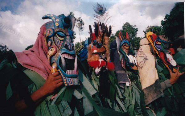 Fiesta Diablitos Boruca Nochevieja Diablitos