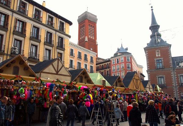 Mercados navidad Madrid