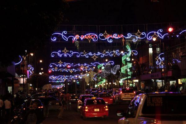 Navidad Costa Rica Luces San Jose