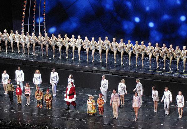 Navidad Nueva York espectáculos