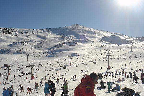 Sierra Nevada invierno