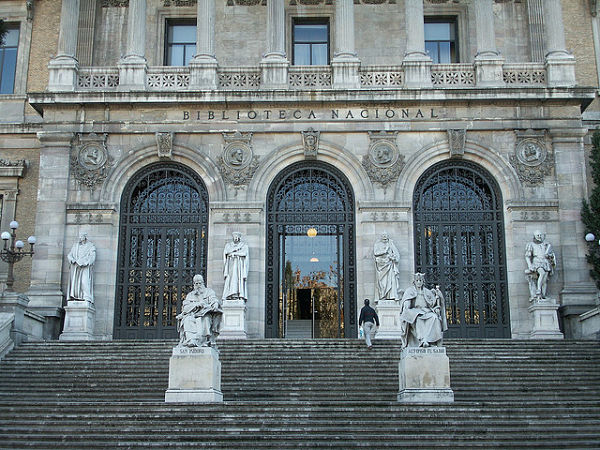 biblioteca nacional españa madrid
