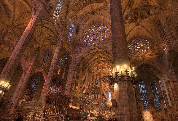 catedral palma de mallorca rosetones