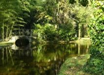 Fotografía del jardín del Señorío de Bértiz en Navarra