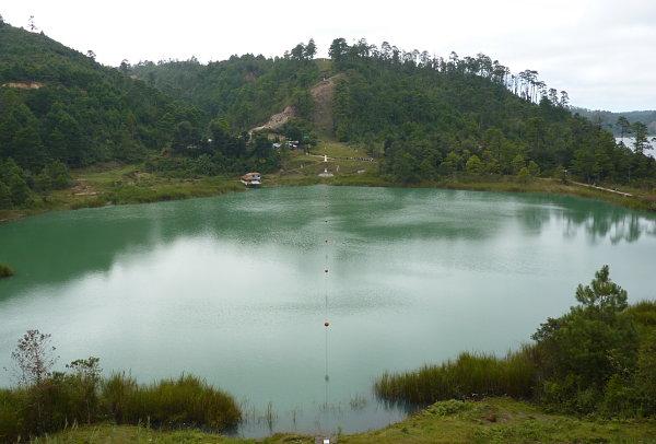Lagunas de Montebello frontera