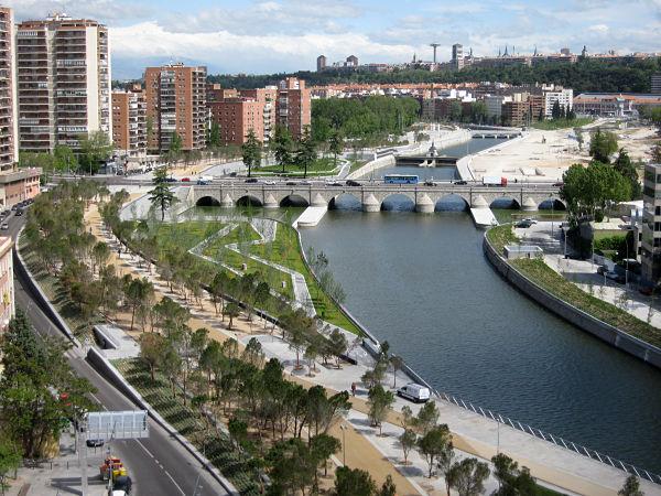 puente segovia rio manzanares