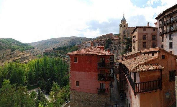 Albarracin Teruel Casas Colgadas