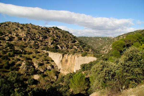 presa del Gasco rio Guadarrama