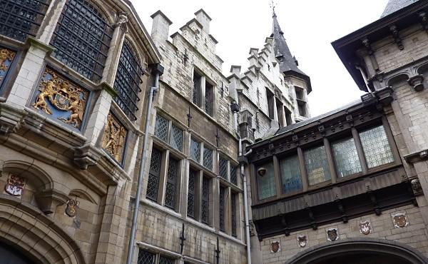 castillo Amberes Het Steen Bélgica
