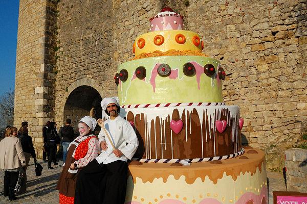 festival chocolate obidos tarta