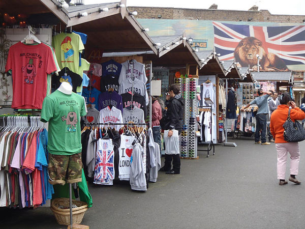 camden market londres ropa