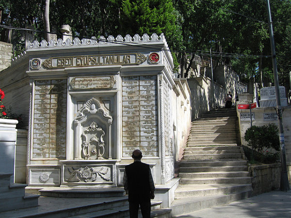 cementerio eyup tumbas estambul