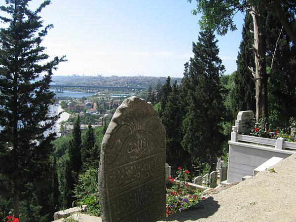 cementerio eyup vistas estambul