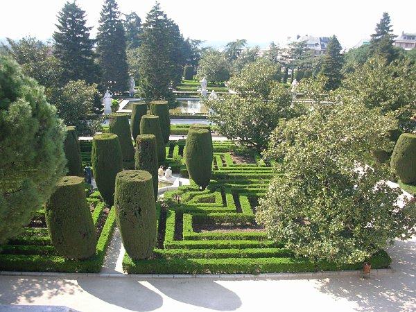 jardines sabatini madrid