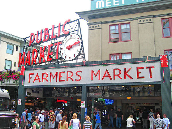 pike place mercado seattle