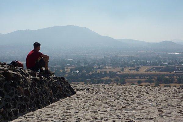 Piramide Sol Teotihuacan viajero