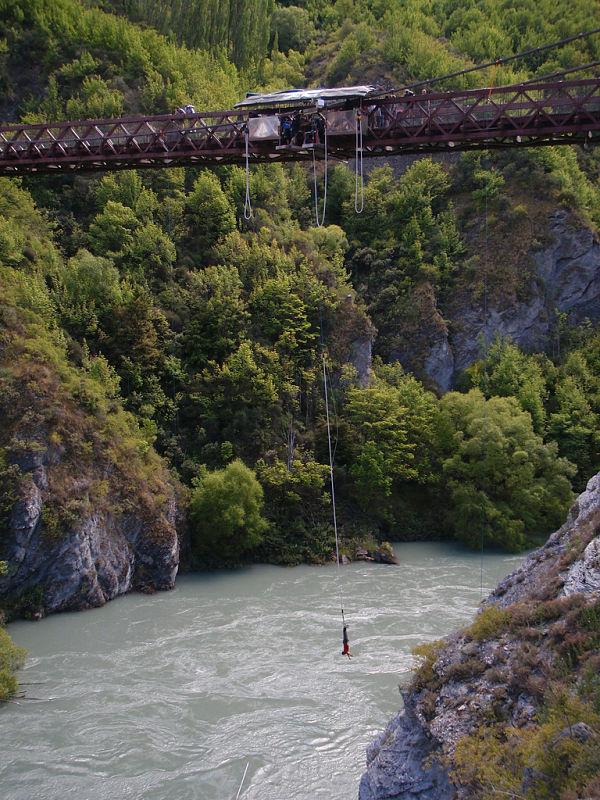 rio kawarau altura puenting