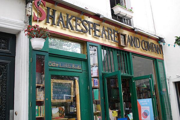 Shakespeare and Company libreria