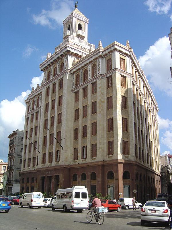 edificio bacardi cuba la habana