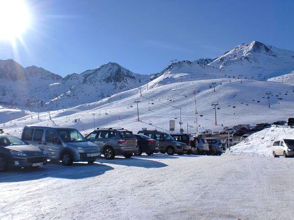 Grandvalira entrada parking